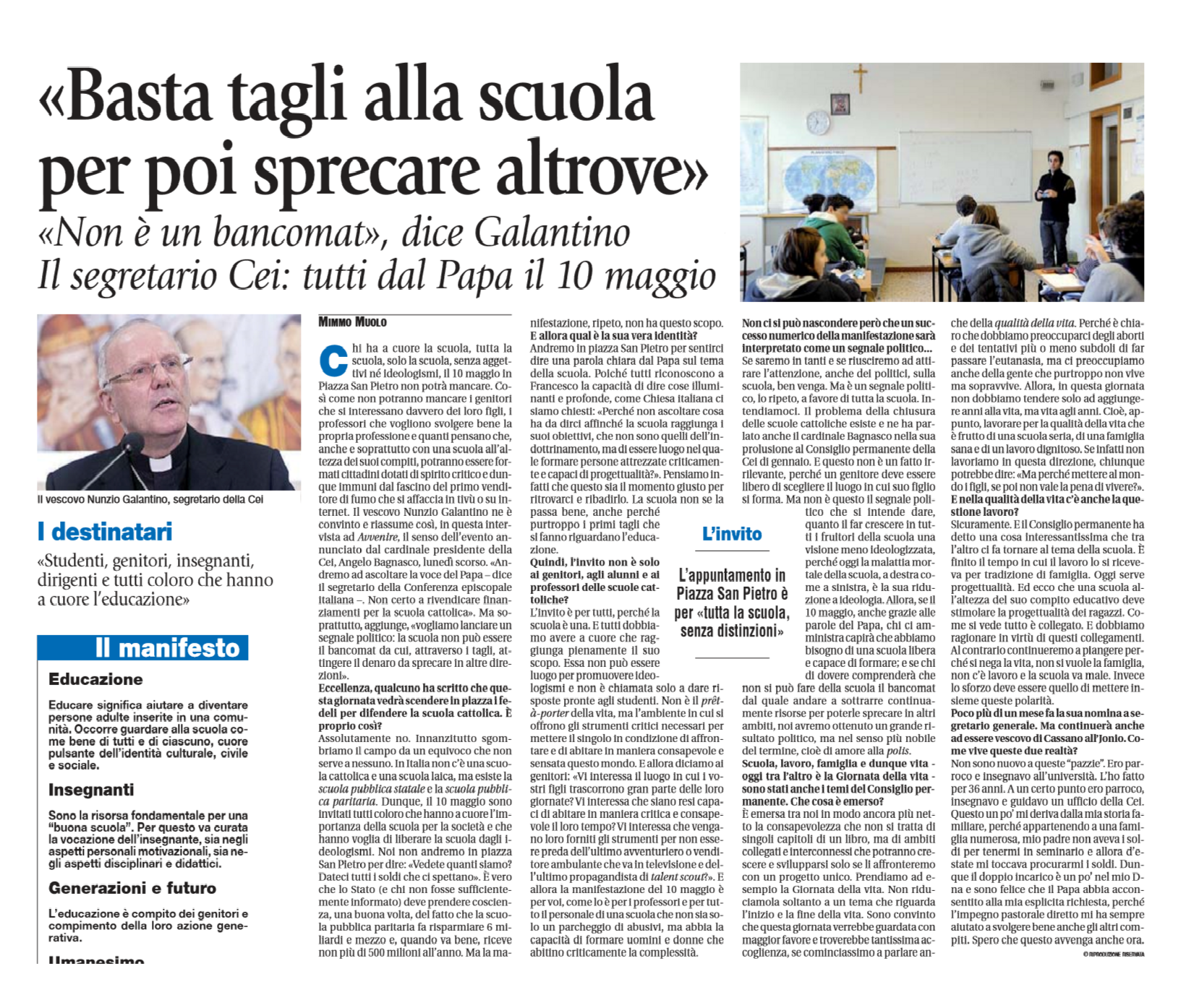 immagine di giornale