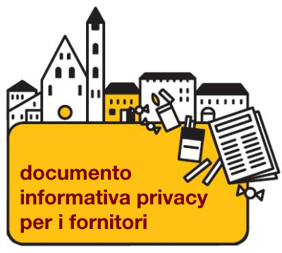 Informativa Privacy Fornitori