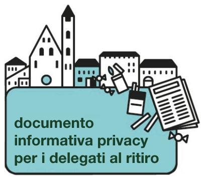 Informativa Privacy Delegati al Ritiro